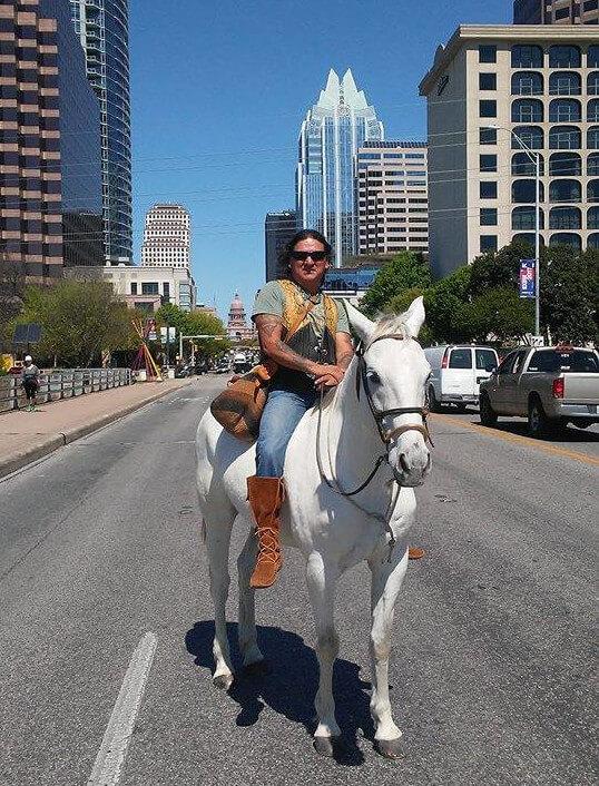 Austin On Horseback